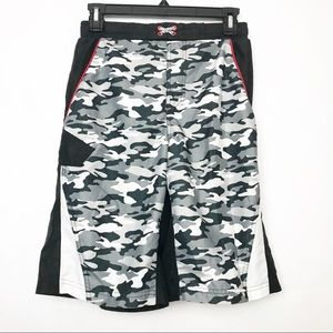 4/$25 OP Ocean Pacific camo graphic swim trunks